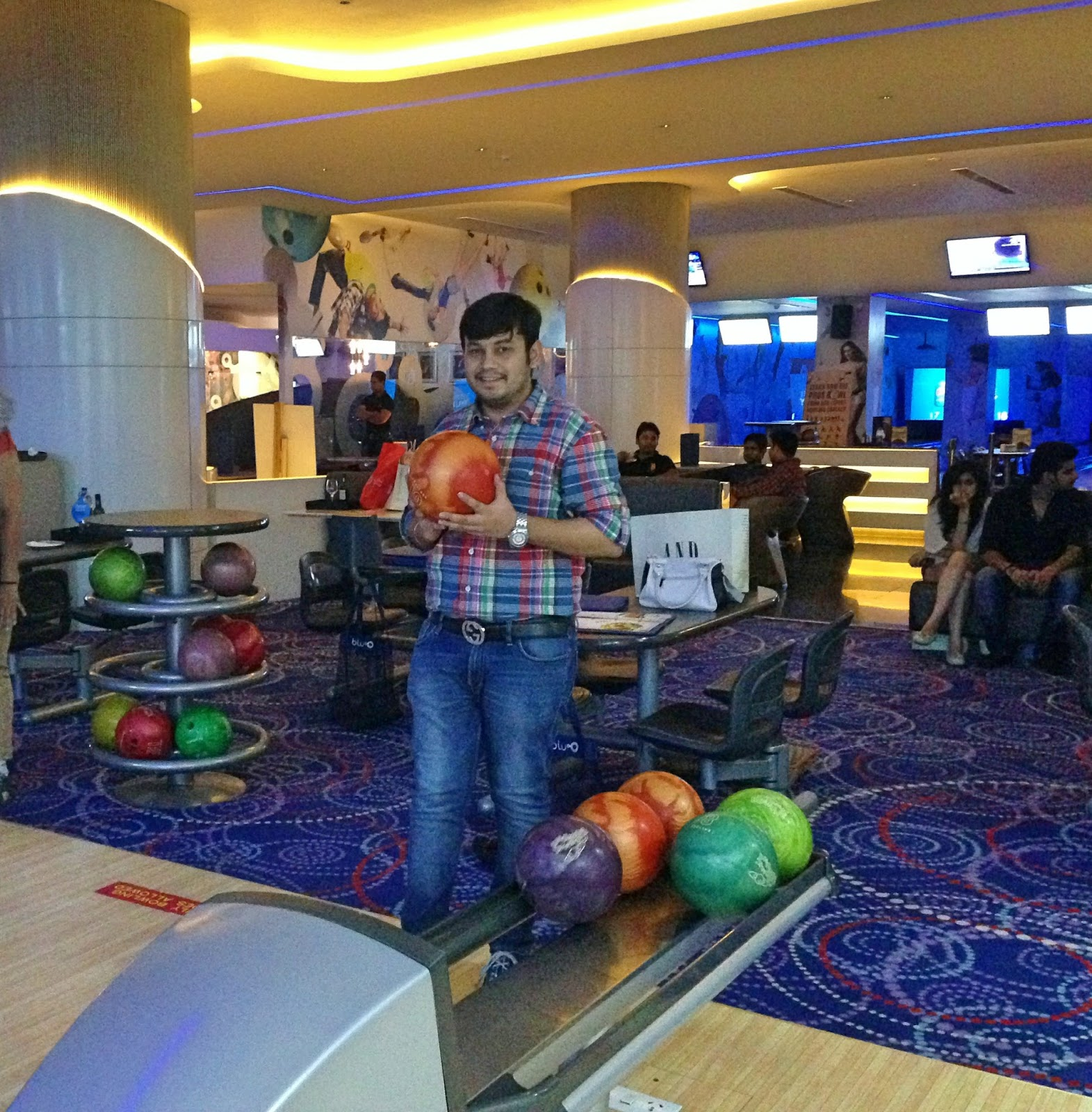 Bowling-bluo