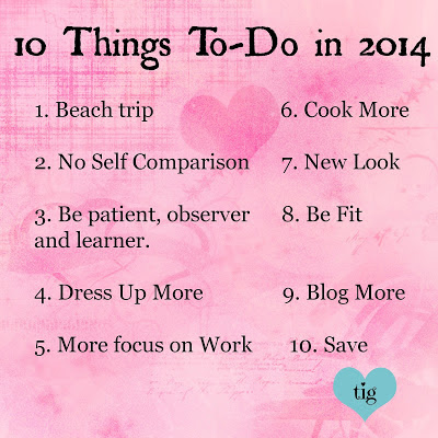 10 things to do in 2014