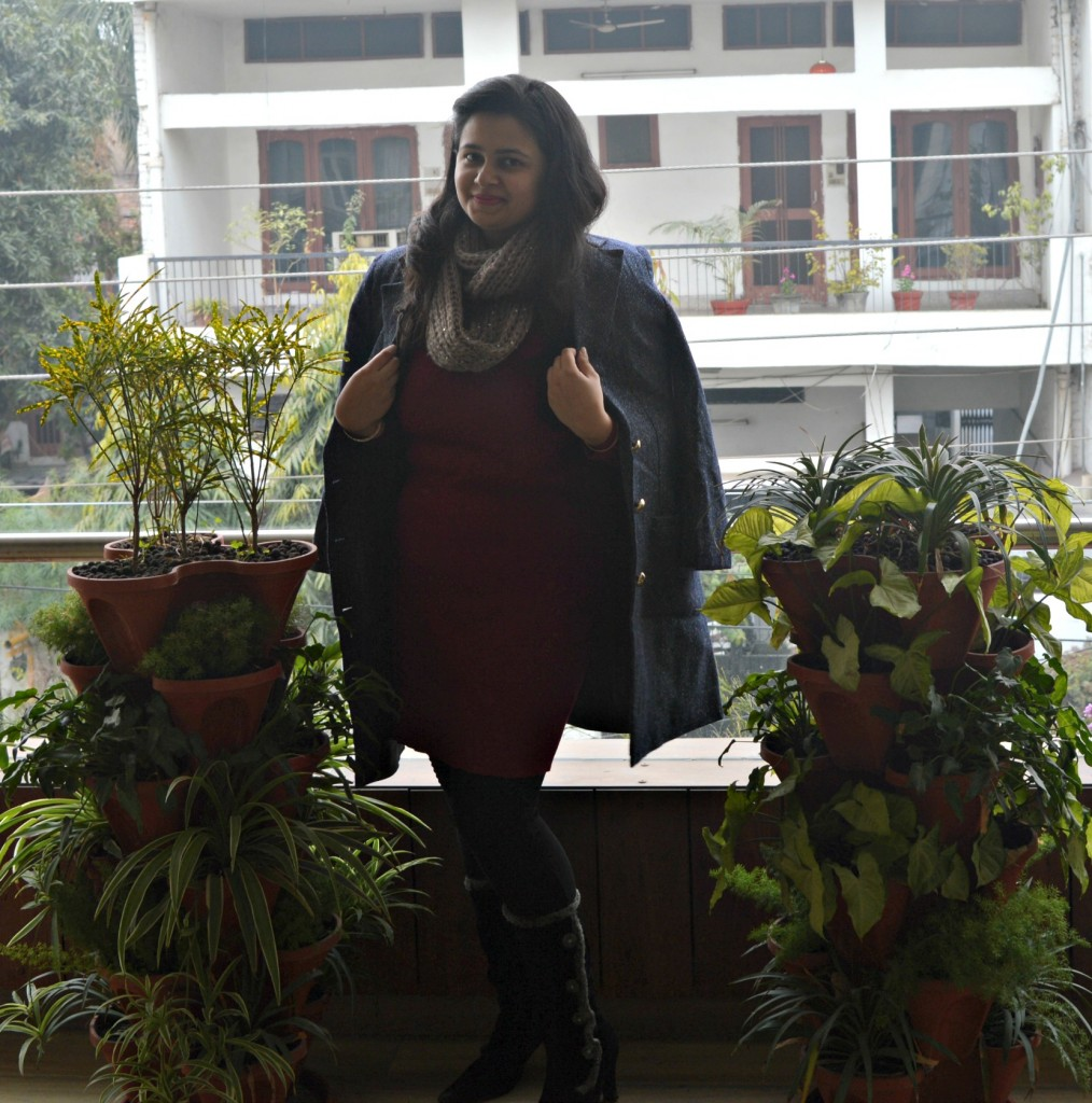 Outfit post with black boots