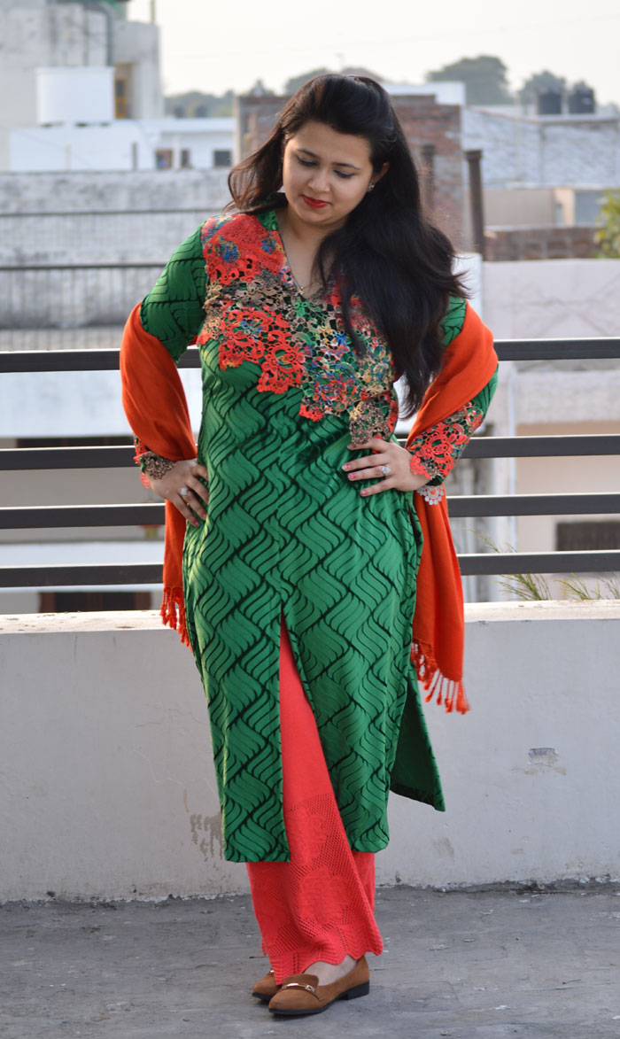 Indian Outfit via theitgirl