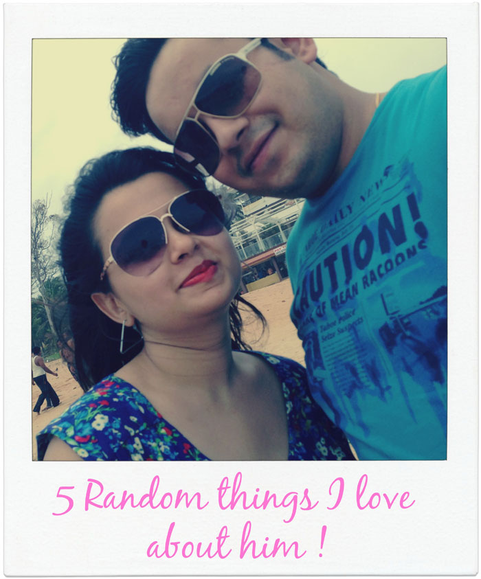 5 things I love about Husband